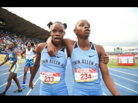 Tia (left) and Tina Clayton.