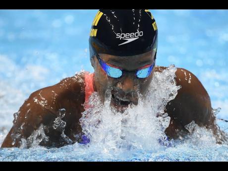 Swimmer Alia Atkinson